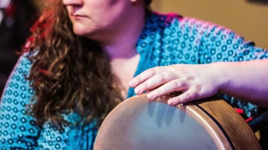 modern frame drum
